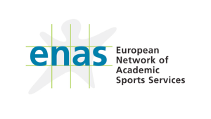 Logo der European Network of Academic Sports Services